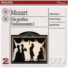 Ingrid Haebler (Ингрид Геблер): Mozart: The Great Violin Sonatas, Vol.1