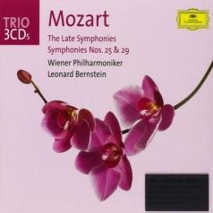 Leonard Bernstein (Леонард Бернстайн): Mozart: The Late Symphonies; Symphonies Nos.25 & 2