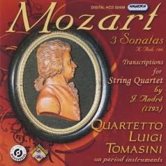 Quartetto Luigi Tomasini (Луиджи Томазини): 3 Sonatas