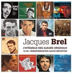 Jacques Brel (Жак Брель): Integrale Des Albums Studio