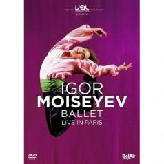 Igor Moisseiev Ballet (Балет ИгоряМоисеева): IGOR MOISSEIEV BALLET, LIVE IN PARIS