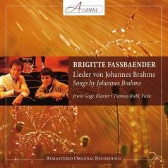 Brigitte Fassbaender (Бригитта Фассбендер): Songs By Johannes Brahms