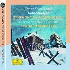 "Leonard Bernstein (Леонард Бернстайн): Shostakovich: Symphonies Nos.1&7 ""Leningrad"""