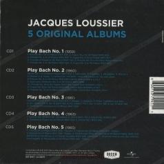 Jacques Loussier (Жак Лусье): Original Albums