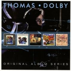 Thomas Dolby (Томас Долби): Original Album Series (The Golden Age of Wireless / The Flat Earth / Music from the film Gothic / Aliens Ate My Buick / Astronauts & Heretics)