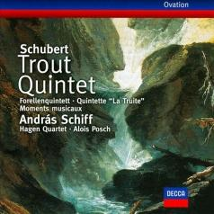 Andras Schiff (Андраш Шифф): Schubert: Trout Quintet; 6 Moments musicaux