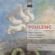 Richard Hickox: Piano Concerto, Concert Champetre, Organ