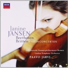 Janine Jansen (Янин Янсен): Beethoven & Britten Violin Concertos