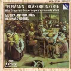 Reinhard Goebel (Рейнхард Гёбель): Telemann: Wind Concertos