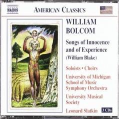 Leonard Slatkin (Леонард Слаткин): Bolcom: Songs Of Innocence And Of Experience