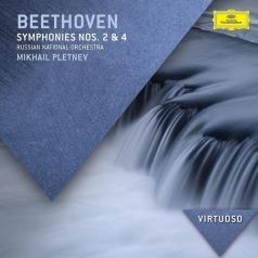 Михаил Плетнёв: Beethoven: Symph. 2 & 4