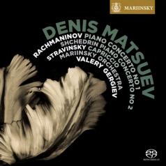 Mariinsky Orchestra: Rachmaninov & Shchedrin: Piano Concertos. Stravinsky: Capriccio For Piano And Orchestra