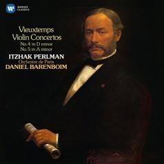 Itzhak Perlman (Ицхак Перлман): Violin Concertos Nos. 4 & 5 - Itzhak Perlman, Orchestre De Paris / Daniel Barenboim