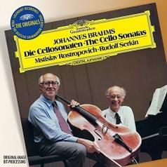 Мстислав Ростропович: Brahms: Sonatas For Cello And Piano No.1