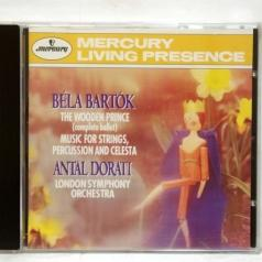 Antal Dorati (Антал Дорати): Bartok: The Wooden Prince/ Music For Strings