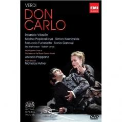 Rolando Villazon (Роландо Вильясон): Don Carlo - Dvd Live From The Royal Opera House