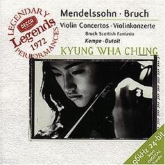 Kyung Wha Chung (Чон Кён Хва): Mendelssohn: Violin Concerto / Bruch: Violin Conce