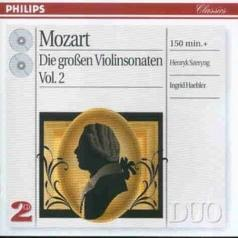 Ingrid Haebler (Ингрид Геблер): Mozart: The Great Violin Sonatas, Vol.2