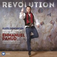 Revolution: Flute Concertos  By Gluck, Pleyel, Devienne And Luigi Gianella
