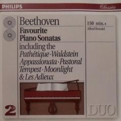 Alfred Brendel (Альфред Брендель): Beethoven: Favourite Piano Sonatas