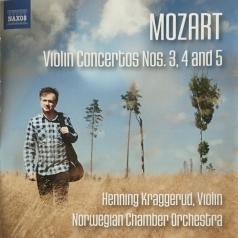 Wolfgang Amadeus Mozart: Mozart,W.A.: Violin Concertos Nos. 3, 4 And 5