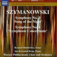 Antoni Wit (Антони Вит): Symphonies 3+4
