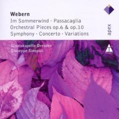 Giuseppe Sinopoli (Джузеппе Синополи): Im Sommerwind, Orchestral Works & Variations