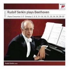 Rudolf Serkin (Рудольф Сёркин): Rudolf Serkin Plays Beethoven Concertos