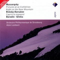 Alain Lombard (Ален Ломбард): Mussorgsky, Rimsky-Korsakov, Borodin & Glinka : Russian Orchestral Favourites