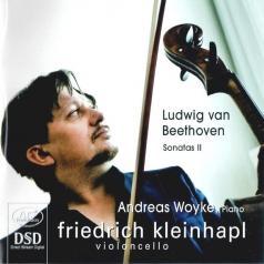 Ludwig Van Beethoven: Cello Sonatas Vol. 2 (Cello Sonatas Op. 102 No. 1 & 2, Violin Sonata Op. 96, Transcr.)