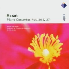 Maria-Joao Pires (Мария Жуан Пиреш): Piano Concertos Nos 20 & 27
