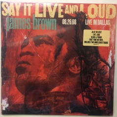 James Brown (Джеймс Браун): Say It Live And Loud: Live In Dallas 08.26.68