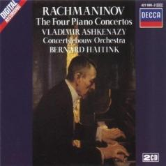 Владимир Ашкенази: Rachmaninov: Piano Concertos Nos. 1-4