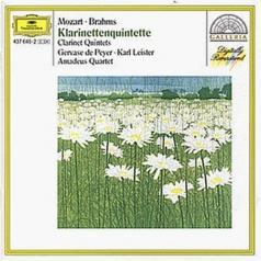 Gervase De Peyer (Жерваз де Пейер): Mozart: Clarinet Quintet K.581