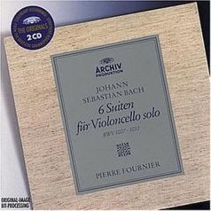 Pierre Fournier (ПьерФурнье): Bach: 6 Cello Suites BWV 1007, 1008, 1009, 1010, 1