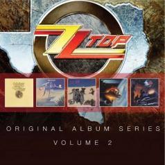 ZZ Top (Зи Зи Топ): Original Album Series (First Album / Tejas / Deguello / El Loco / Afterburner)