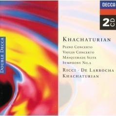Aram Khachaturian (Арам Ильич Хачатурян): Khachaturian: Piano Concerto/Violin Concerto, etc.