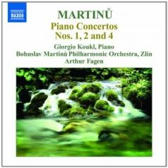 Bohuslav Martinů (Богуслав Мартину): Piano Concertos 2