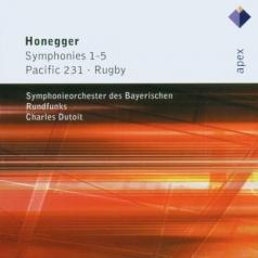 Charles Dutoit (Шарль Дютуа): Symphonies Nos 1 - 5, Pacific 231 & Rugby