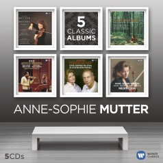 Anne-Sophie Mutter (Анне-Софи Муттер): 5 Classic Albums