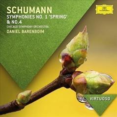 Daniel Barenboim (Даниэль Баренбойм): Schumann: Symphonies Nos. 1 & 4