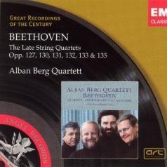 Alban Berg Quartett (Квартет Альбана Берга): The Late String Quartets (Live At Vienna's Konzerthaus)