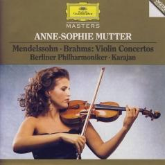 Anne-Sophie Mutter (Анне-Софи Муттер): Mendelssohn / Brahms: Violin Concertos