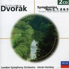 London Symphony Orchestra (Лондонский симфонический оркестр): Dvorak: Symphonies Nos.5, 7, 8 & 9