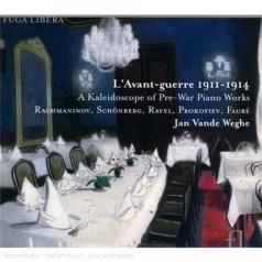 Jan Vande Weghe: L'Avant-Guerre - A Kaleidoscope Of Pre-War Piano Works