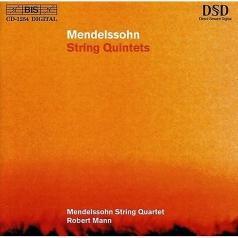 Mendelssohn String Quartet (Мендельсон Стрит Квартет): String Quintets