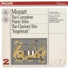 Beaux Arts Trio: Mozart: The Complete Piano Trios; Clarinet Trio