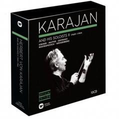 Herbert von Karajan (Герберт фон Караян): Karajan And His Soloists Ii 1969-1984