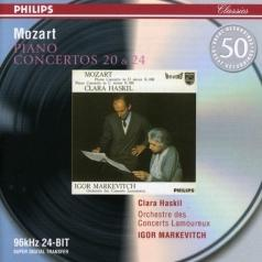Clara Haskil (Клара Хаскил): Mozart: Piano Conc. 20, 24
