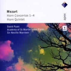 David Pyatt (Дэвид Гетта): Horn Concertos Nos 1 - 4 & Horn Quintet]